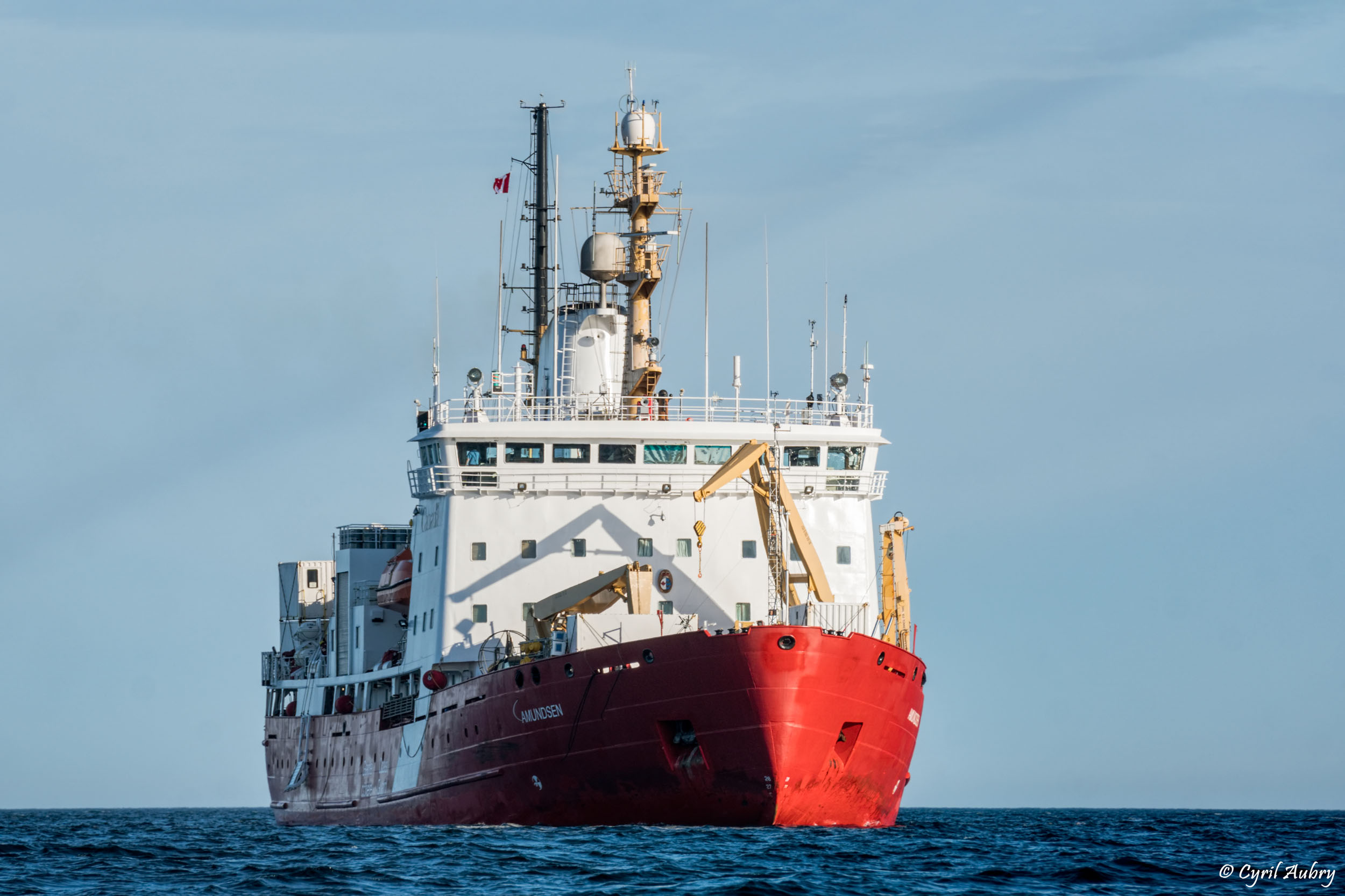 Launch of the 16th Science Expedition on board the CCGS Amundsen